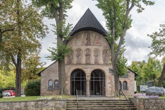 Goslar Cathedral 88 year old message in a bottle