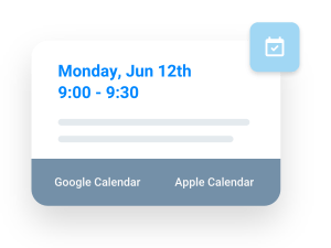 calendar bookings and reminders