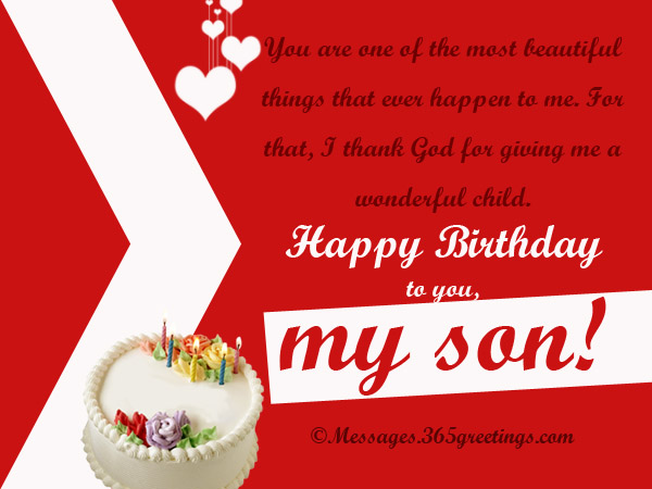 Birthday Wishes Greeting For Son 365greetings Com