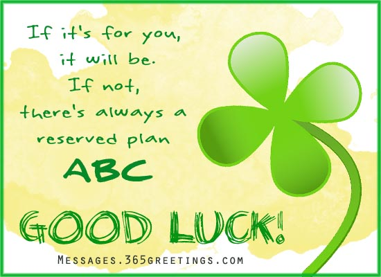 good luck wishes for new job - Good Luck Quotes