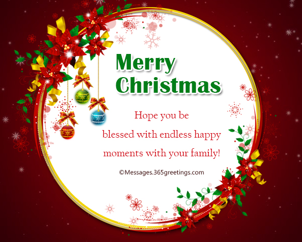 Short Christmas Messages