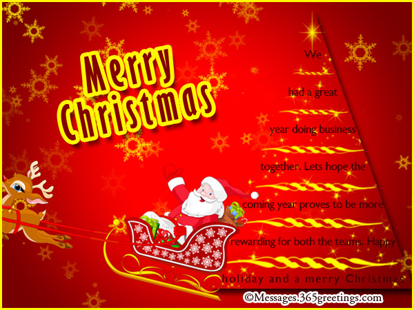 Christmas Wishes For Clients Send Ecards Business Formal
