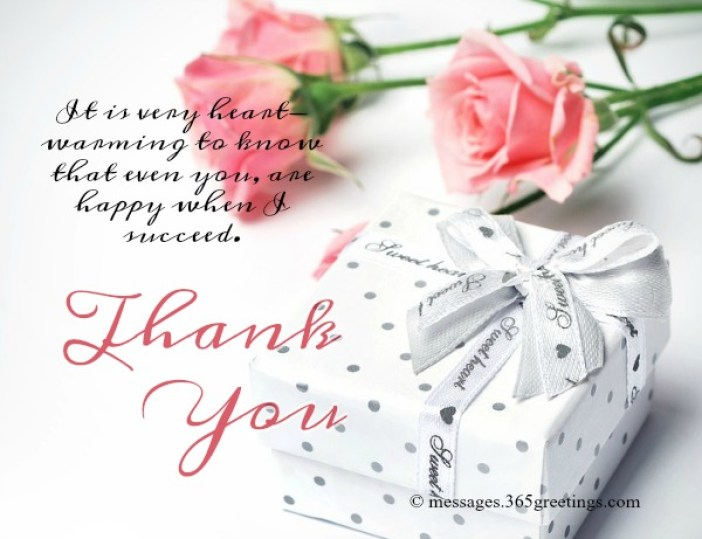 Thank You Messages for the Congratulations - 365greetings.com
