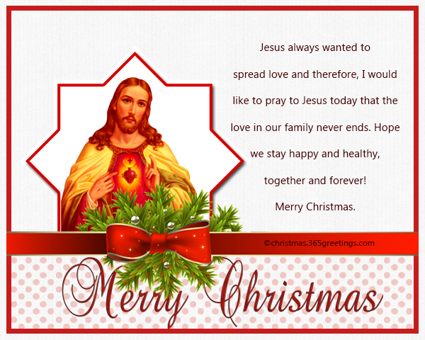 Christian Christmas Messages And Wishes