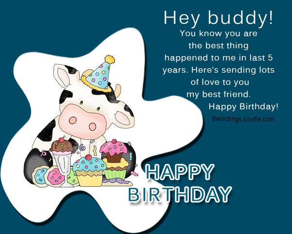 Birthday Wishes For Best Friend Male 365greetings Com