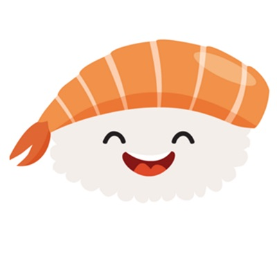 Kawaii Sushi Stickers for iOS Messages