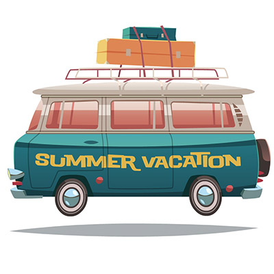 vacation sticker pack for iOS messages