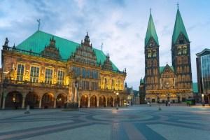 The market square in Bremen