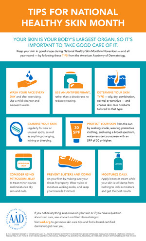 national-healthy-skin-month-infographic-image