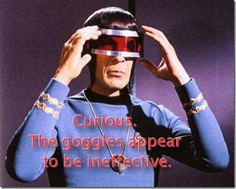 Curious Spock