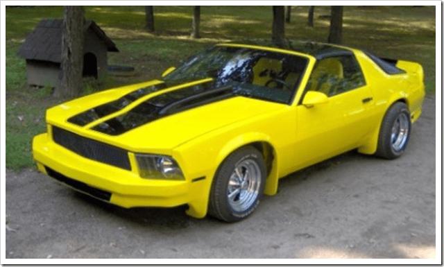 Mustang Camaro hybrid