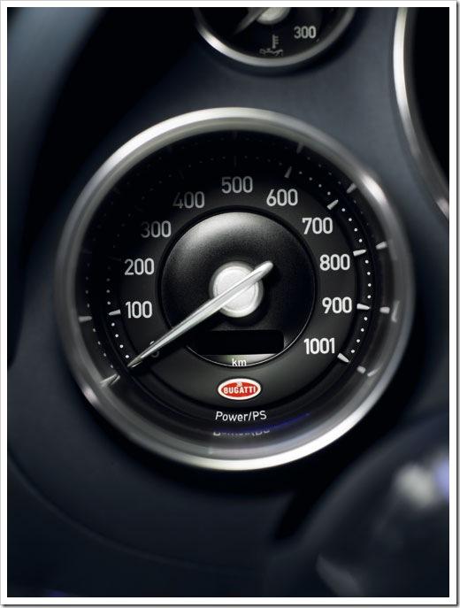 Bugatti Veyron Power meter