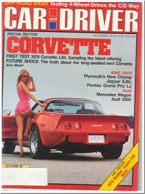 December 1978 Car and Driver