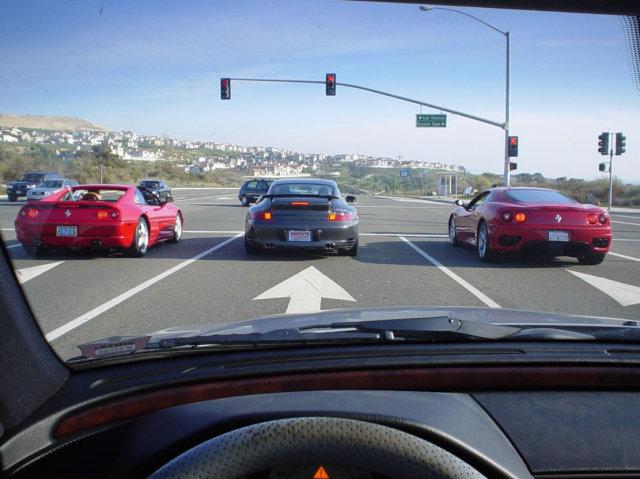 Ferrari 355 Ferrari 360 Porsche 911