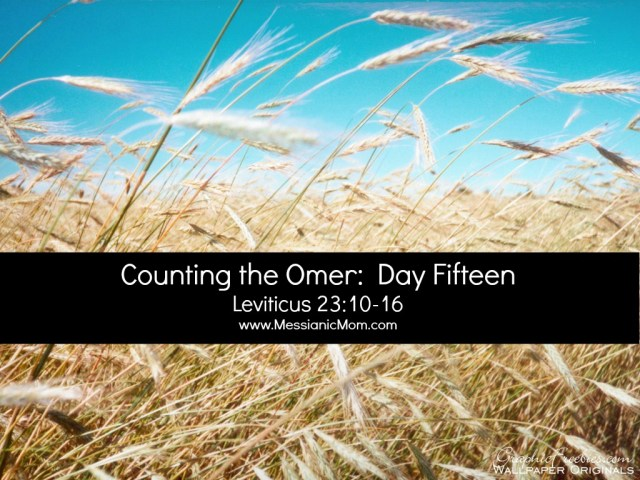 Day Fifteen Omer Count
