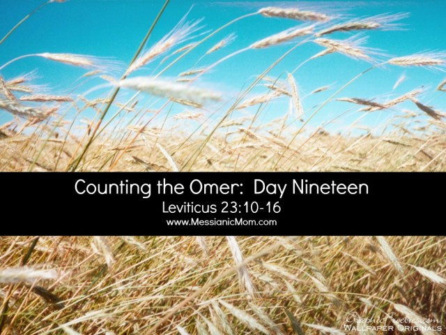 Day Nineteen Omer Count