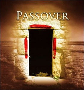 Passover Blood on Door
