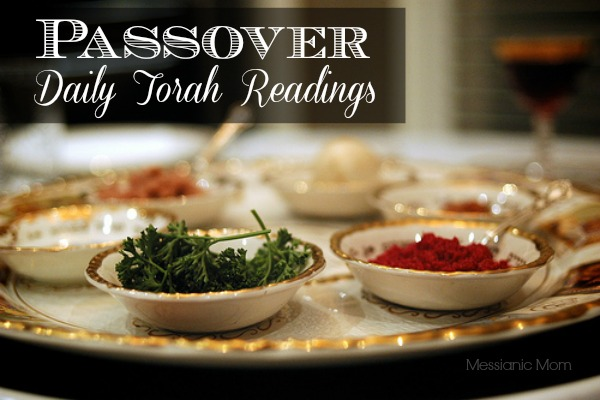 Passover Daily Torah Readings