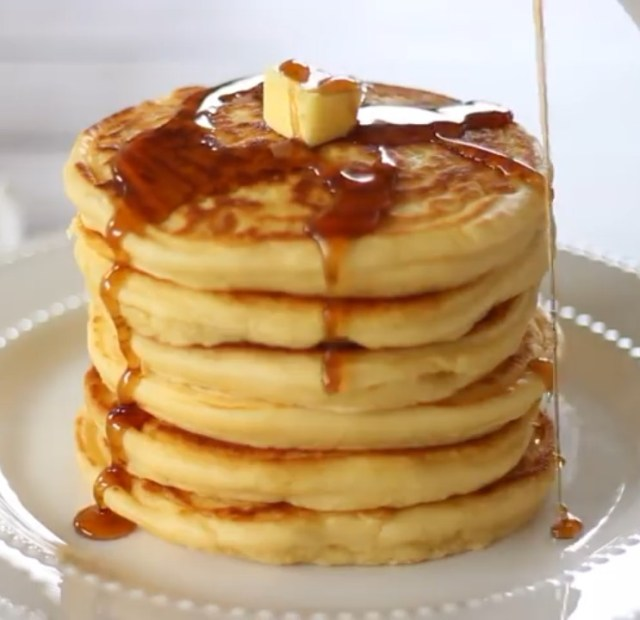 healthy banana pancake recipe