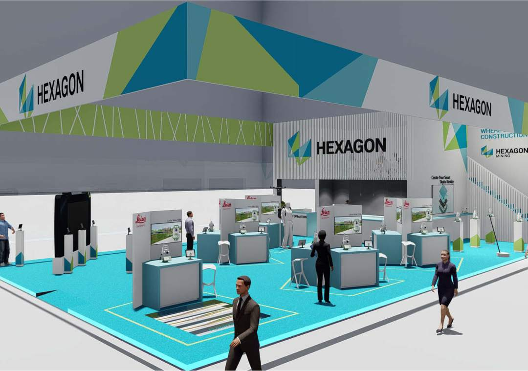 Hexagon-exhibition-tradeshow-design
