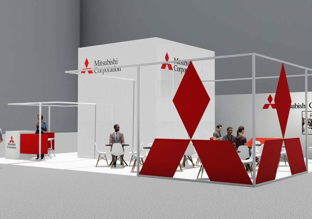 Mitsubishi-exhibition-tradeshow-design