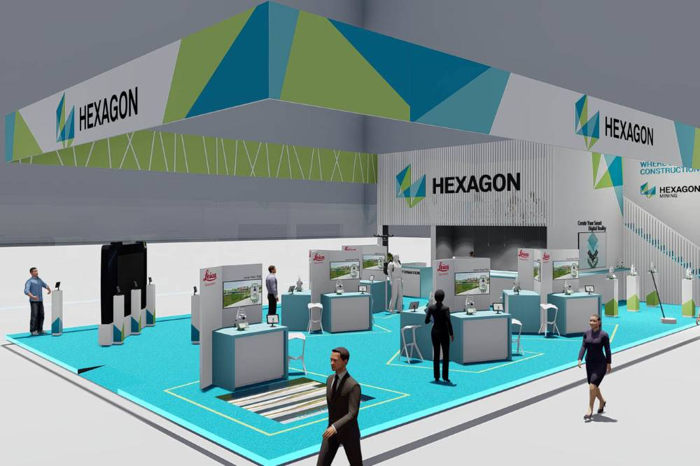Hexagon bauma size edit