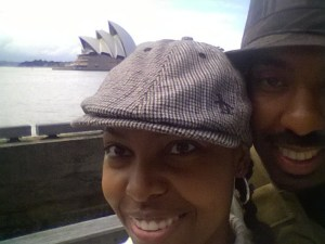 The Messy Mommy and Mr. T in Sydney, Australia