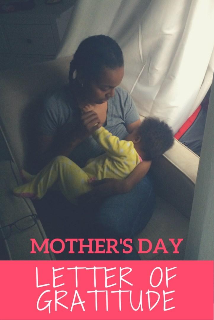 Mother's Day Letter of Gratitude