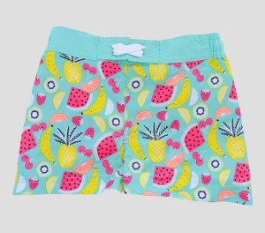 Baby Boys' Fruit Print Swim Trunks