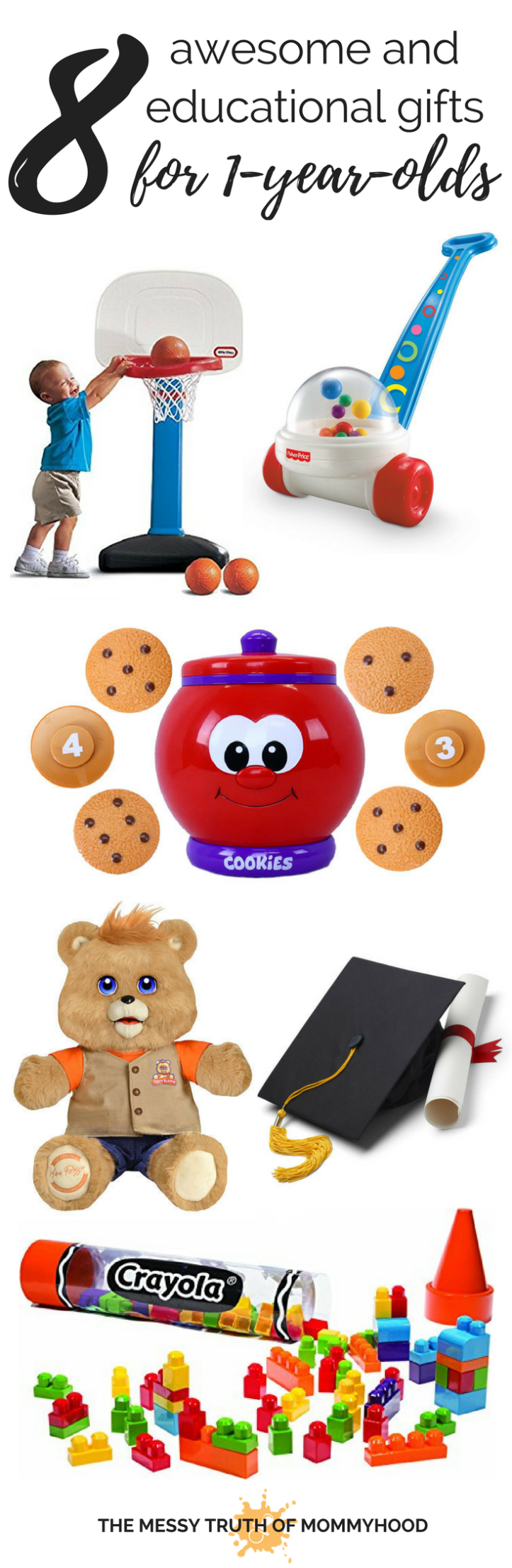 Eight Awesome and Educational Gifts for a 1-Year-Old's Birthday