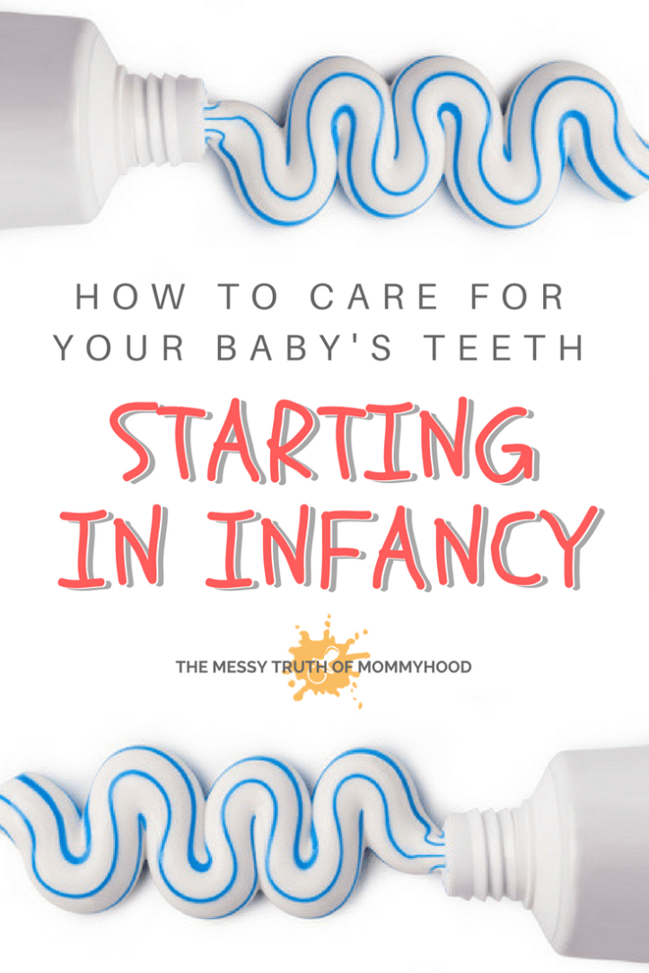 How to Properly Care for Your Baby's Teeth and Gums Starting in Infancy
