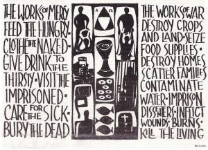 Image of Rita Corbin's Works of Mercy artwork.