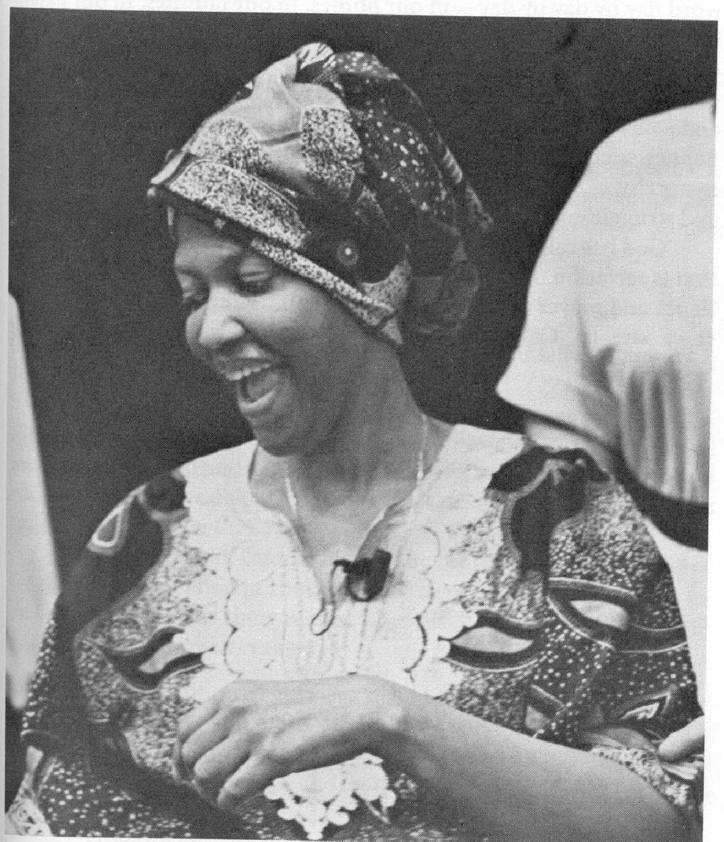 sister Thea Bowman-laughing