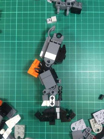 Leg work: early leg design (side)