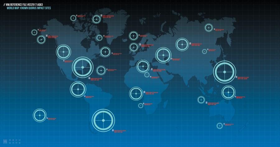 MW Scenario World Map