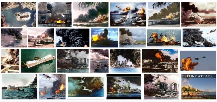 pearl harbor in color 1940s