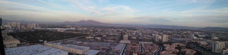 work and travel - Las Vegas