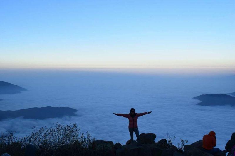 Colchon de nubes en Rupac