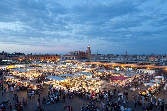 Marrakech - Yamaa el Fna