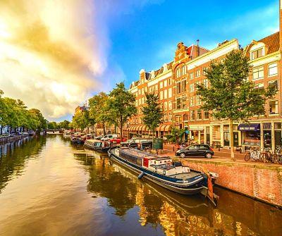Lugares románticos Amsterdam