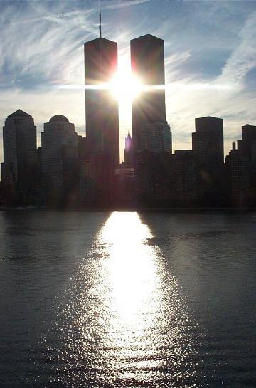 New York en souvenir des attentats du 11 Septembre 2001