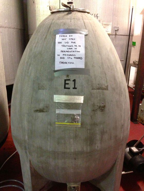 barrel egg