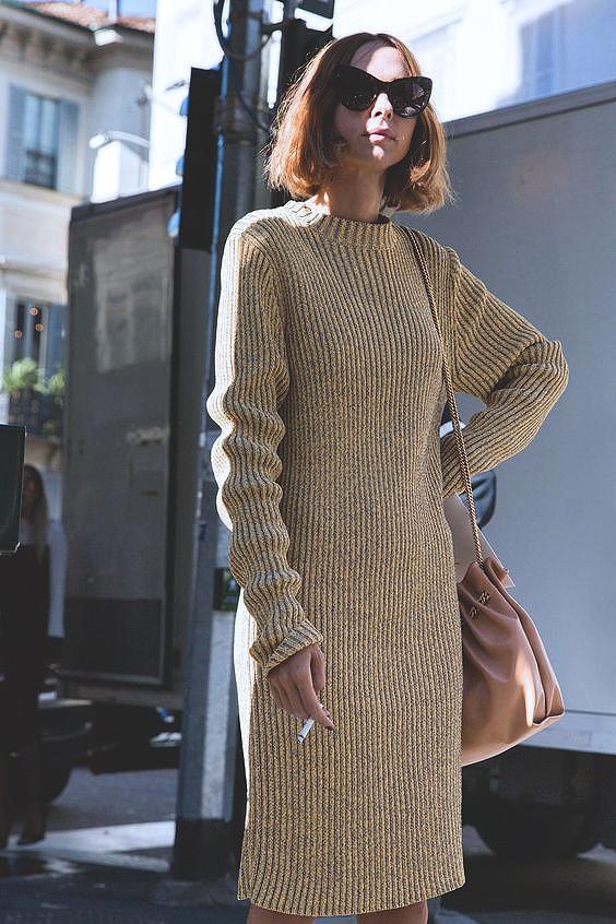 knit-dress-outfits-street-style-20178e91c9ec0dbd31fd51b2e5bdfaf535d5