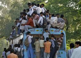 bus en Inde