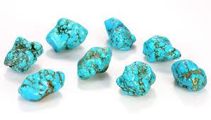 pierres turquoises