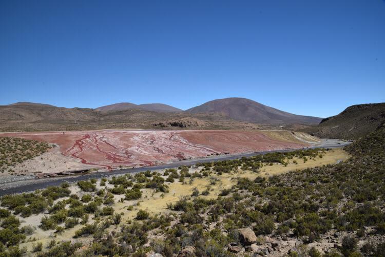 Arrivée laguna roja