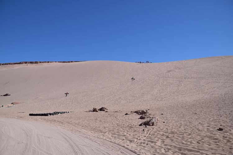 San Pedro de Atacama dune