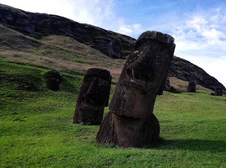 îles de Pâques Moaï