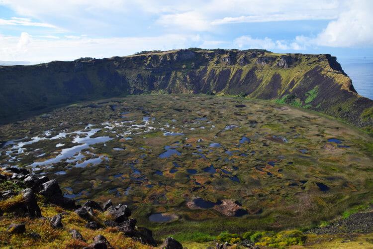 île de Pâques Rano Kau