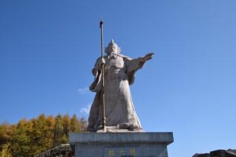 muraille-statue